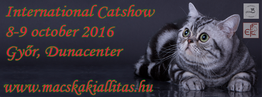 Felis Hungarica International Catshow 8-9 october 2016